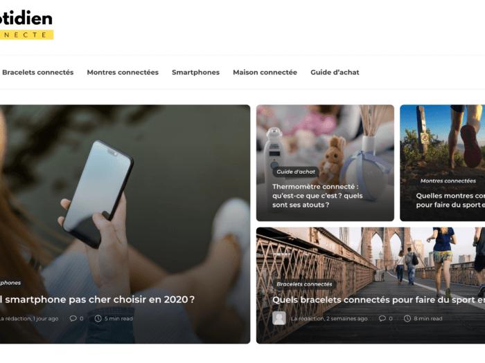 blog objets connectés